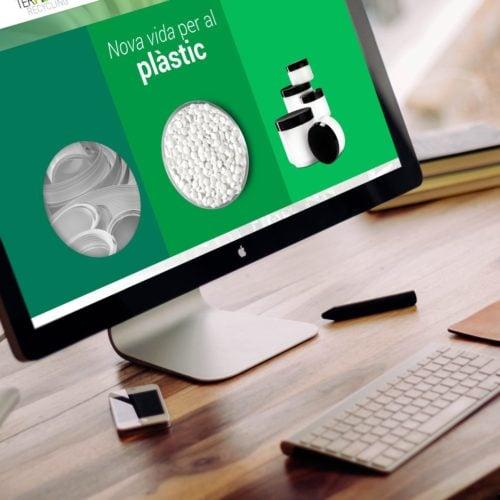Vista de la web en ordenador