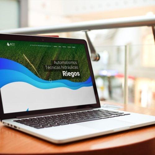 ATH Riegos vista web ordenador